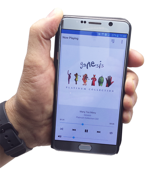 Controllo da smartphone